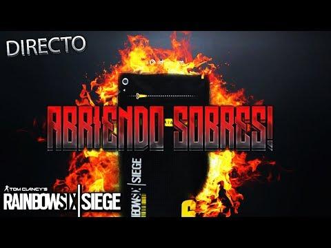 ABRIENDO SUMINISTROS EN DIRECTO!! ALPHA PACKS SII!!- RAINBOW SIX SIEGE Gameplay Español
