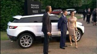 Land Rover LRX Hybrid Concept Car Images Videos