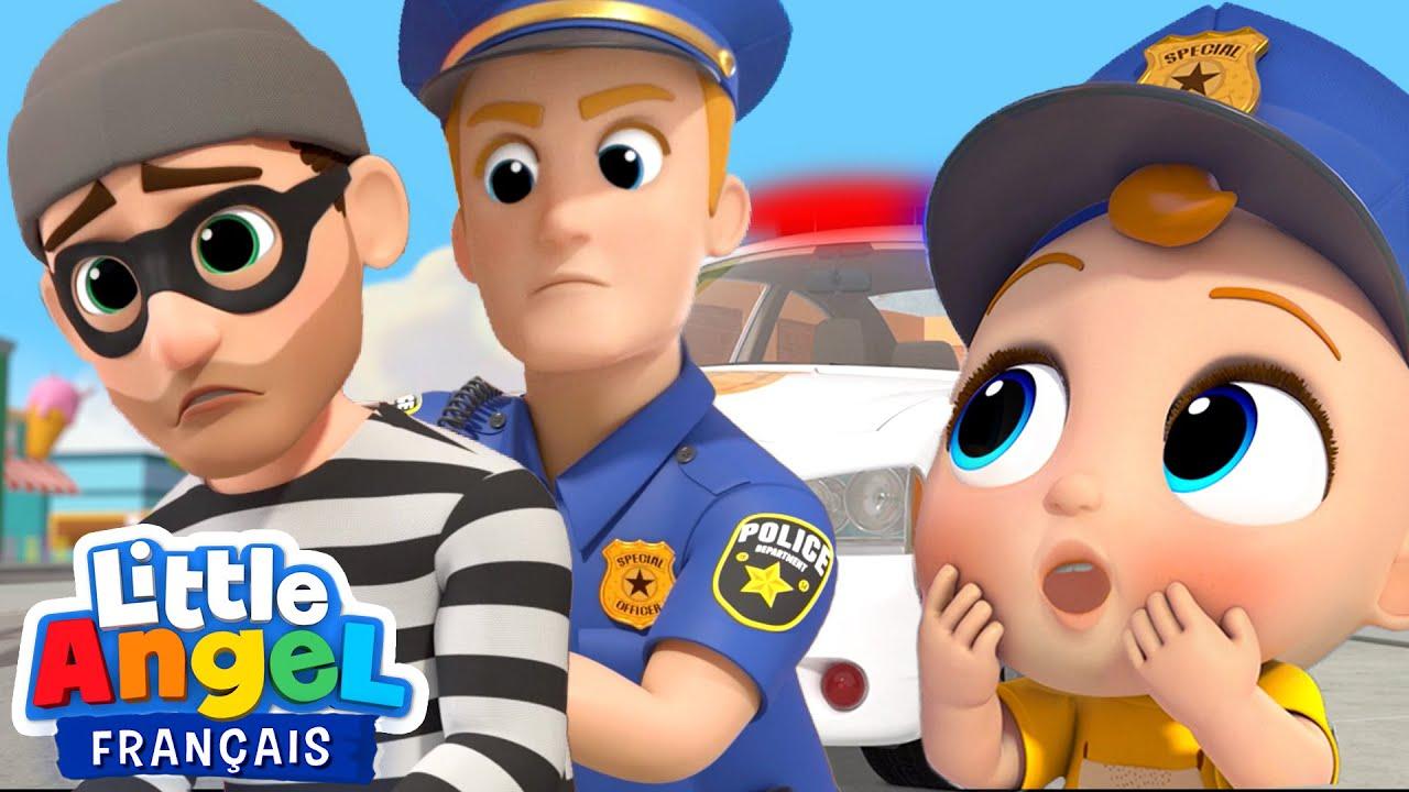 Download Je veux devenir policier   Comptines pour Bébé   Little Angel Français