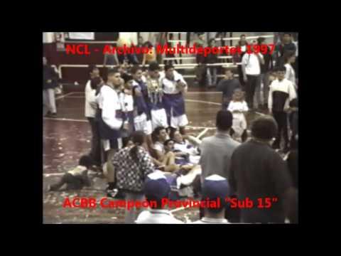 ACBB Campeón Provincial 1997 Sub 15