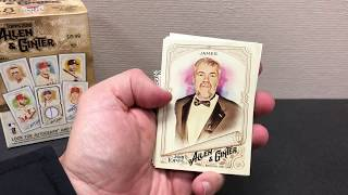 Allen and Ginter 2018 blaster box opening. Bizarre mini cards. Best beaches?  Moon phases?