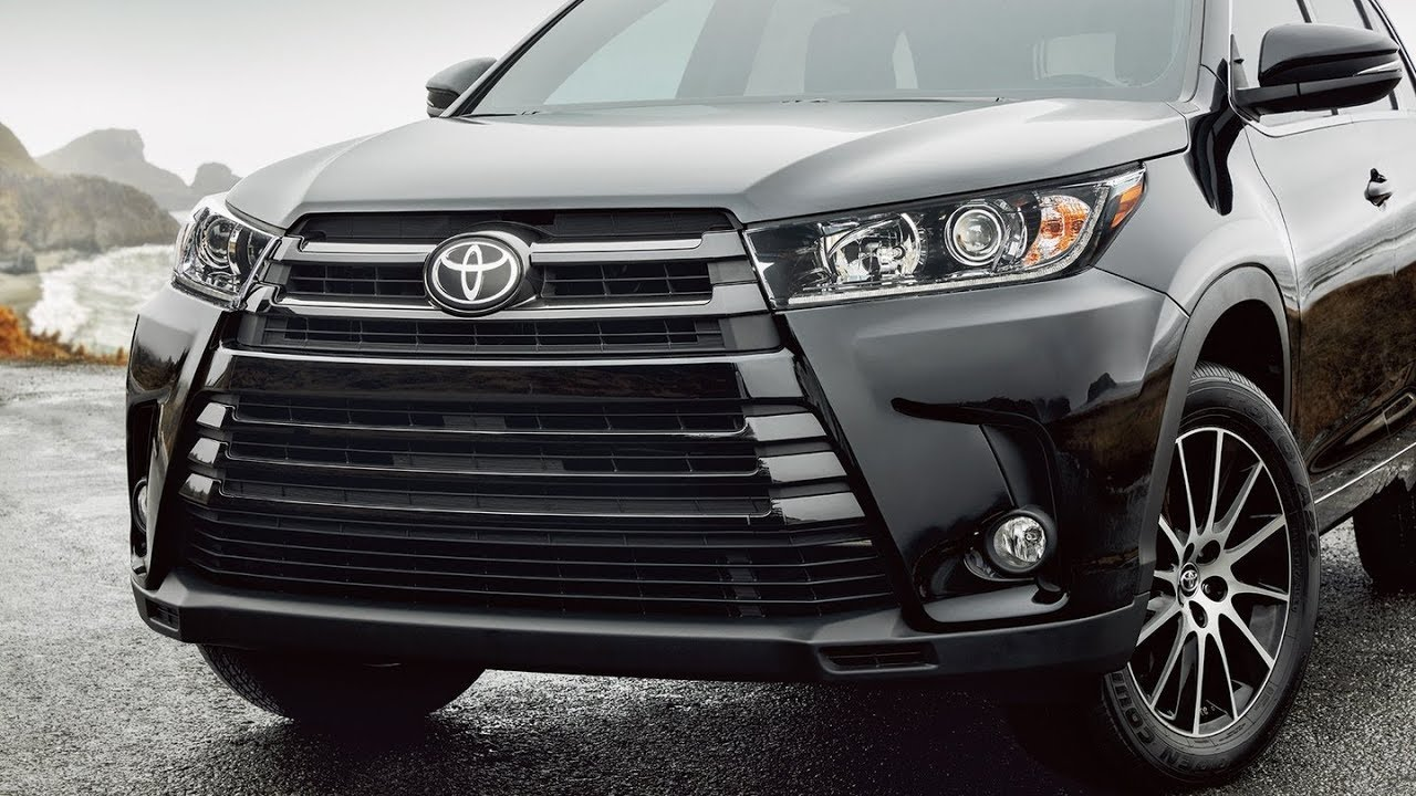 2019 Toyota Highlander Redesign Mpg Suv New Models