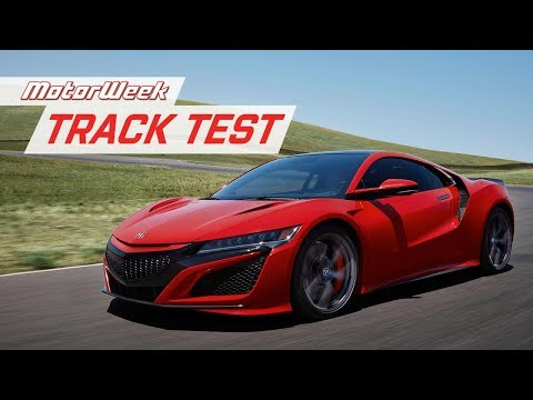 The 2019 Acura NSX Is A Track Surgeon | MotorWeek Track Test