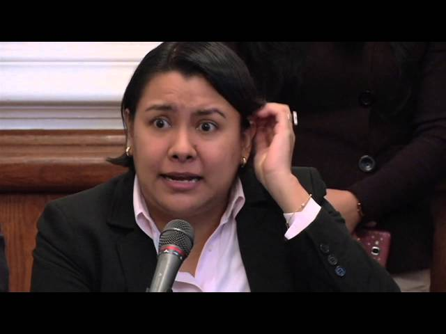 Discurso de la Dra. Perla Gómez en el tema del presupuesto para la CDHDF