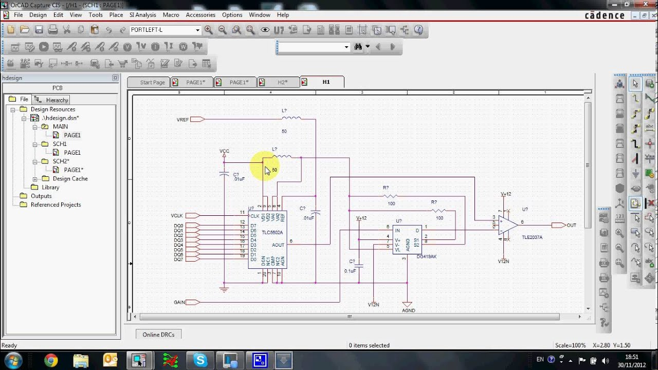 Hierarchical Design In Orcad Capture