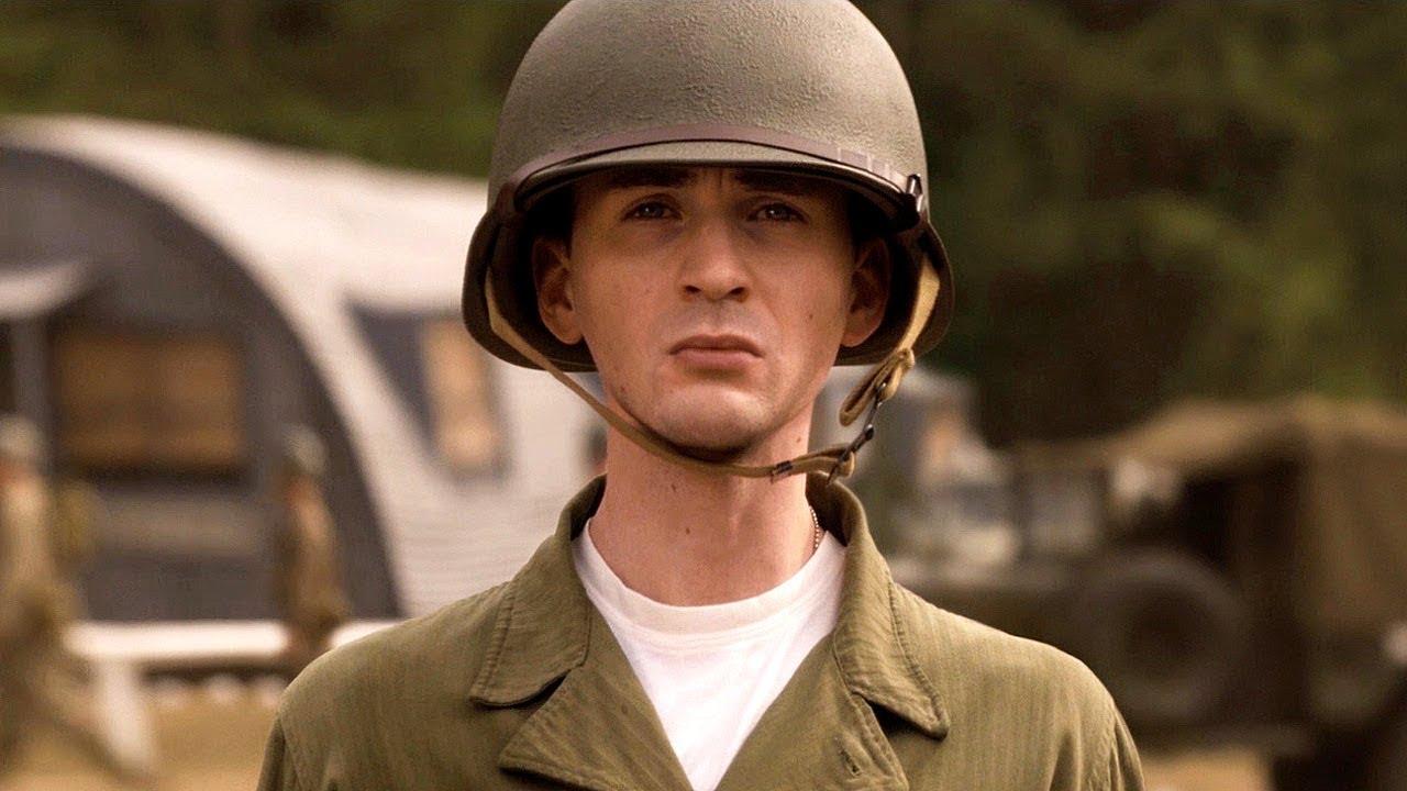 Download Steve Rogers Military Training - Flag Pole Scene - Captain America: The First Avenger (2011)