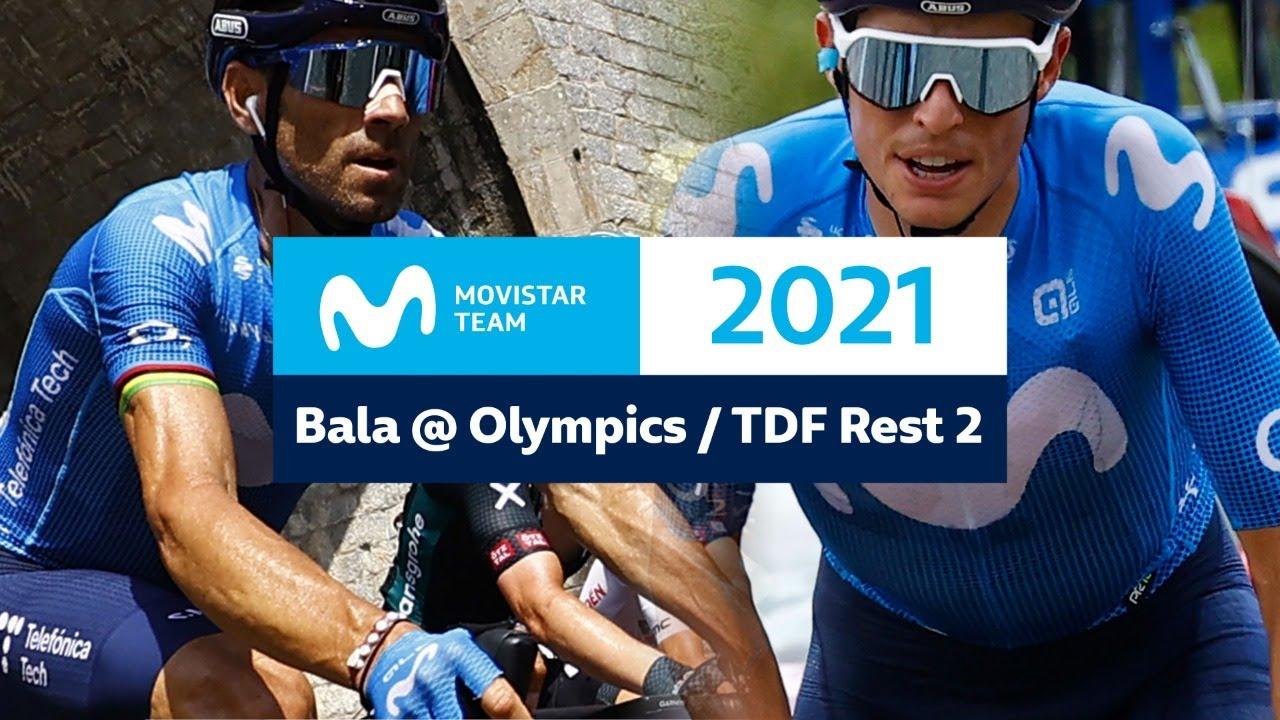 Download Valverde y Tokyo 2020 - RdP 2º Descanso Tour 2021   Movistar Team