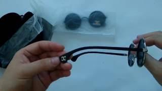 Retro Round Polarized Hipster Sunglasses For Men/Women