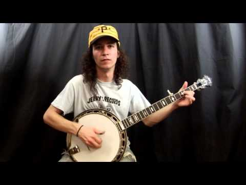 Acoustic Music Works Banjo Demo - Huber Workhorse, Maple Bluegrass Banjo