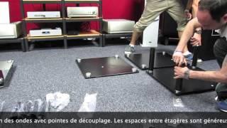 Présentation Du Meuble HIFI Norstone Design Säbbl