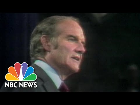 Now And Then: Comparing Sanders 2020 Run To McGoverns 1972 Campaign  NBC News