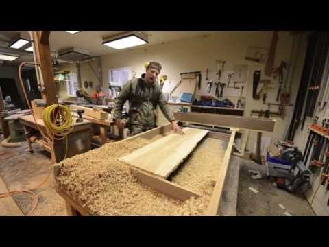 """Woodworking Hacks, 52"""" Wide Planer with a Router! How To"""