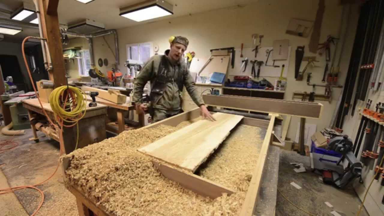 Woodworking Hacks 52 Quot Wide Planer With A Router How To