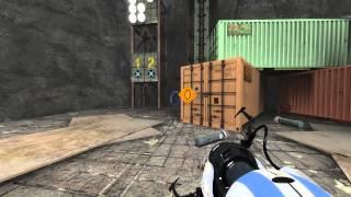 Portal 2 TestChambers #002 Прохождение Elements of destruction