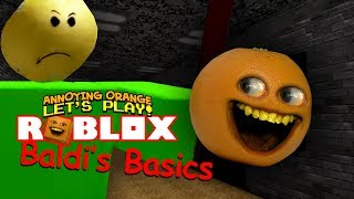ärgerlich Orange Beats - Roblox: BALDI BASICS!