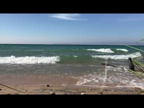 25 Minutes of Lake Michigan Waves | Relaxing Water Sounds | Full HD