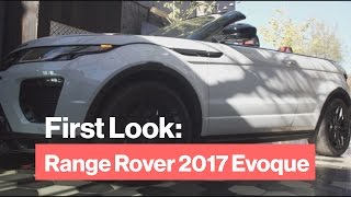 The 2017 Evoque SUV Takes its Top Off