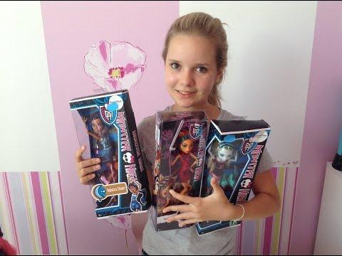 Конкурс на 3 куклы Монстр Хай   Yasmin Donut