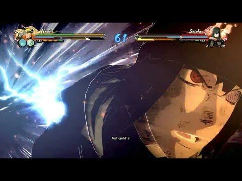 Naruto Shippuden Ultimate Ninja Storm 4 - The Last Naruto vs The Last Sasuke Gameplay