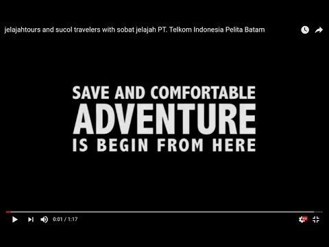 jelajahtours and sucol travelers with sobat jelajah PT. Telkom Indonesia Pelita Batam
