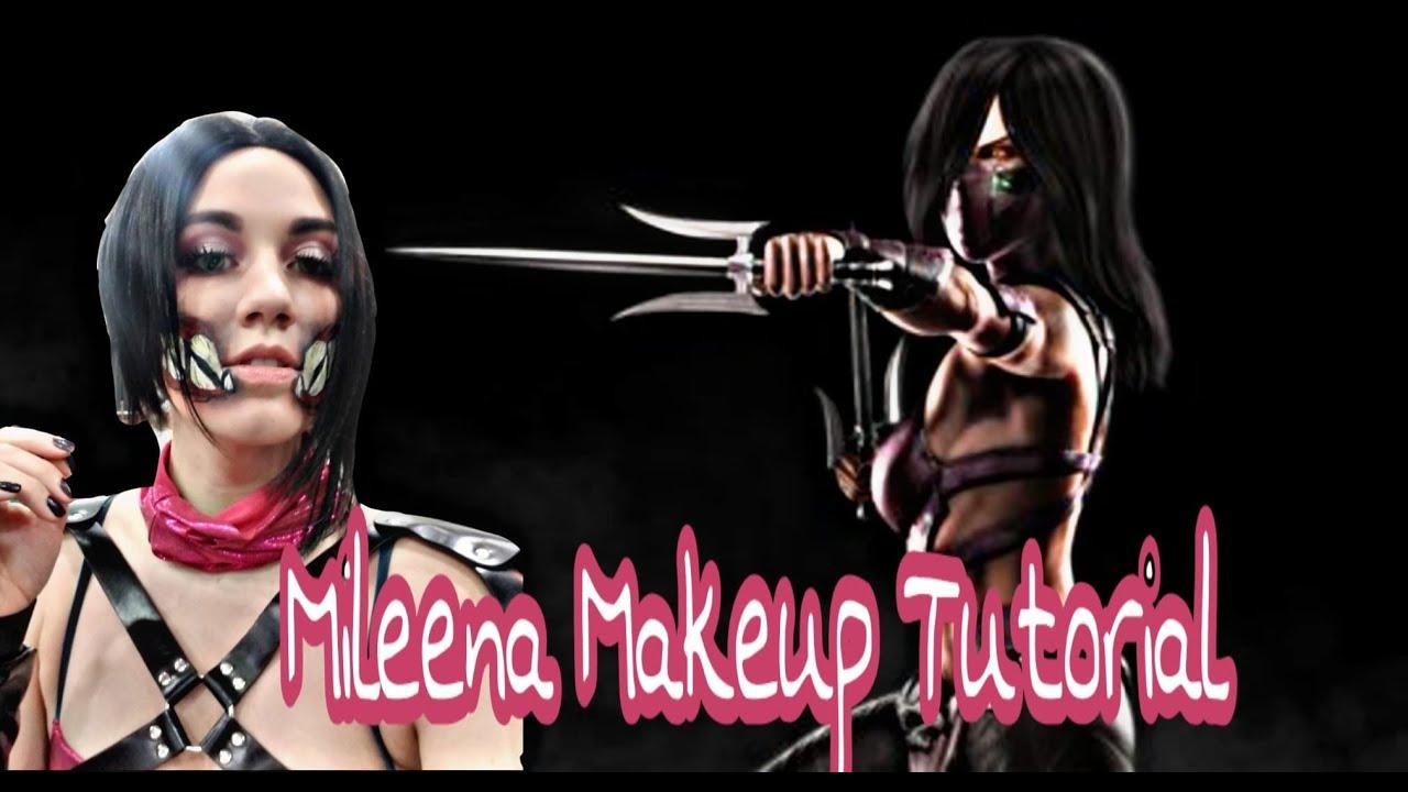Self] my attempt on doing mileena cosplay @nixcosplays: cosplay.