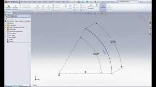 Как измерить дугу на эскизе в SolidWorks (Tips and Trics 4/10)