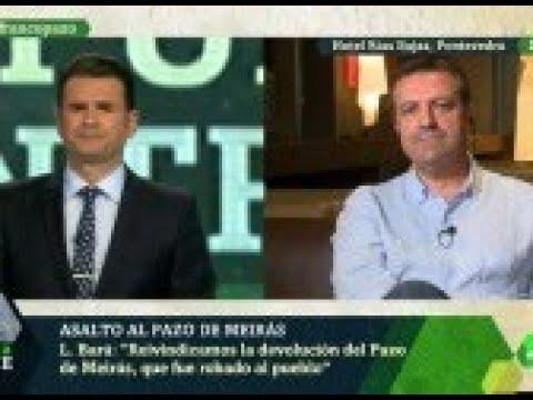 """Luis Bará: """"Hay que cambiar la ley para promover la devolución del Pazo de Meirás"""""""