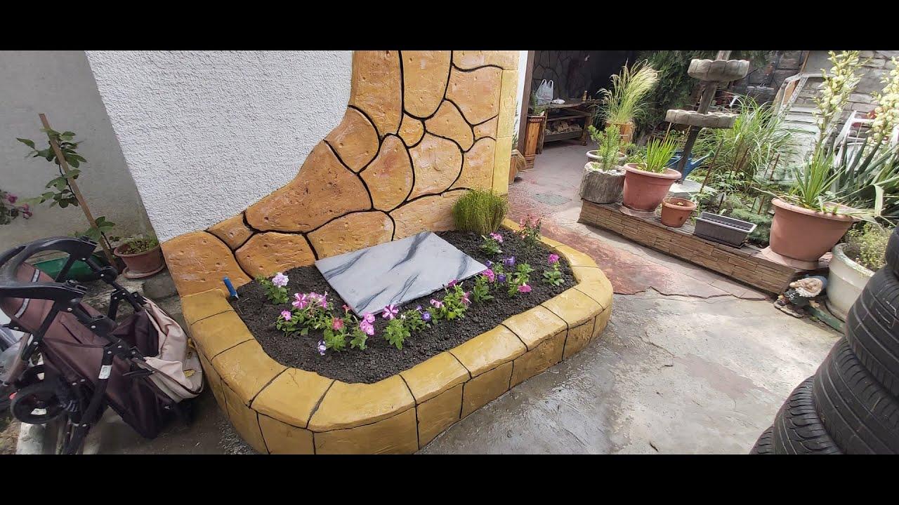 Цветочники из бетона цена на цемент в москве