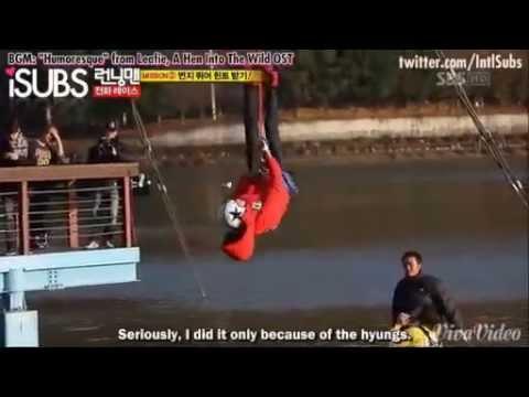 [CUT] Running Man Ep 70 - Kwangsoo's bravery