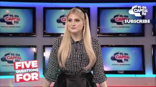 Meghan Trainor Embarrassed Herself In Front Of Beyonce! (5 Questions For)