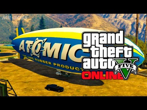 GTA 5 Online: How To Get & Fly The Atomic...