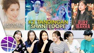 Download lagu Koreans React to OPM #8 (KZ Tandingan, Donnalyn Bartolome, Ruby Ibarra) | EL's Planet