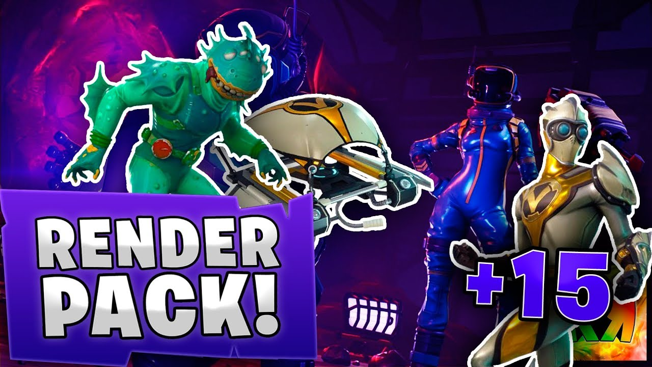 New Free Render Pack Fortnite New Skins And Wallpapers Pc And