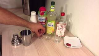Faire Un Cocktail Pink Lady - Recette Cocktail Shaker