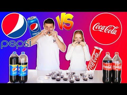 COCA COLA VS PEPSI!   CHALLENGE   ЭКСПЕРИМЕНТ!   УГАДАЕМ ИЛИ НЕТ!   SWEET HOME