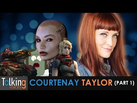 Courtenay Taylor  Talking Voices Part 1
