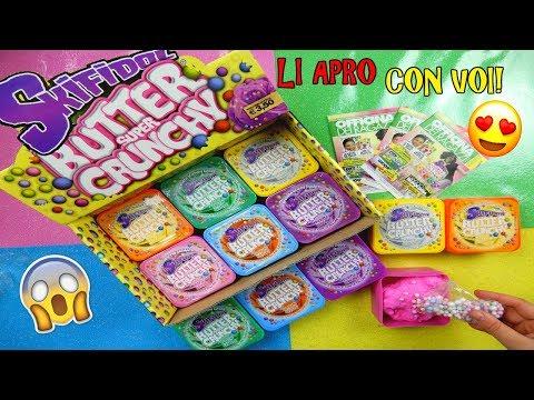 APRO I NUOVI SKIFIDOL BUTTER SUPER CRUNCHY! NUOVI PROFUMI!  Iolanda Sweets