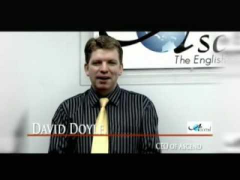 Ascend English CEO, David Doyle
