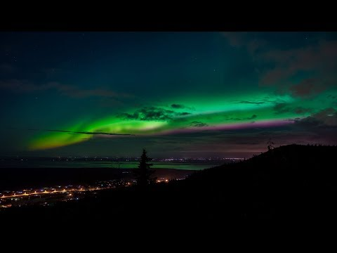 NORTHERN LIGHTS | EAGLE RIVER, ANCHORAGE