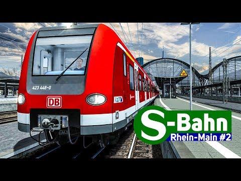 Train Simulator 2018: S-BAHN Rhein-Main #2 - Mit der BR 423 am Hauptbahnhof Frankfurt!