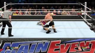WWE 2K15 - MyCareer - Face Scan Close Enough vs Dolph Ziggler