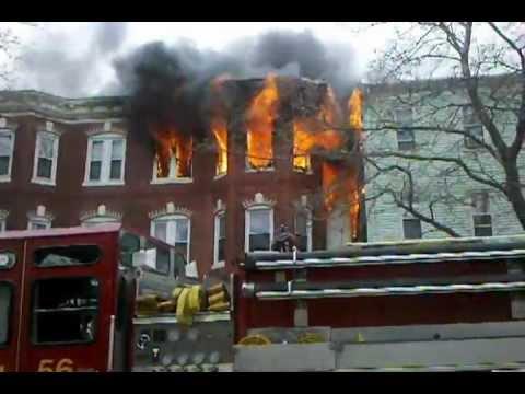 April 1, 2012 - FIRE - Chelsea Street, East Boston