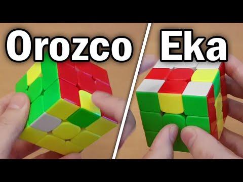 Eka & Orozco 3x3 Blindfolded Methods Tutorial [Edges]