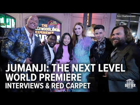 Jumanji: The Next Level | Premiere, Interviews & Red Carpet | Extra Butter