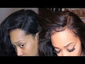 How to Customize and Make Your Full Lace Wig Look Natural. NO HAIR OUT