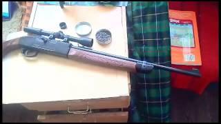 гвинтівка CROSMAN 2100 classik проти газового балона.