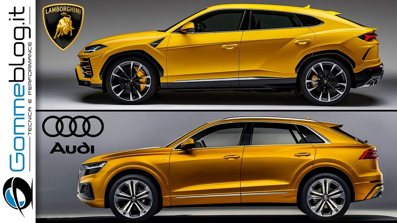 Audi Q8 Vs Lamborghini Urus See The Differences Youtube