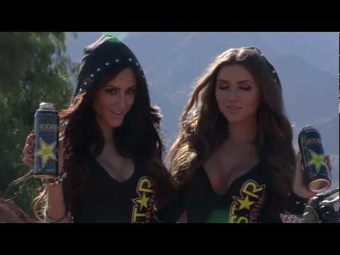 Rockstar Energy Racing Model Photo Shoot