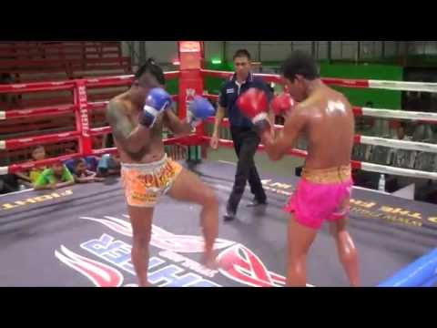 Kunchan (Tiger Muay Thai) vs Ninphet (Phuket Thai Fight) 17/9/16