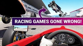 When Racing Games Go Wrong: Fail Compilation